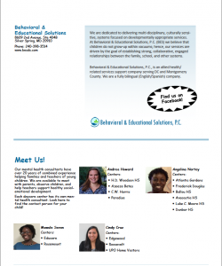 BES May newsletter 2